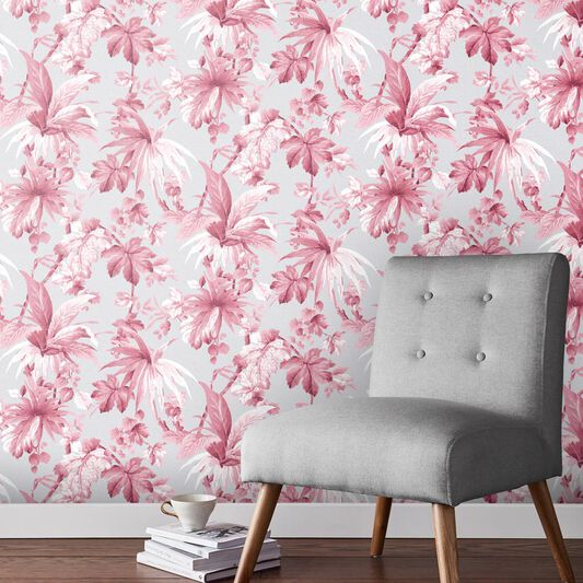 Eden Blush Wallpaper, , large