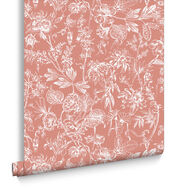 Stroma Coral Wallpaper, , large