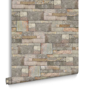 Sandstone Natural Wallpaper, , large