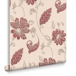 Papier Peint Juliet Rouge, , large