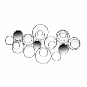 Eternal Swirl Metal Wall Art, , large
