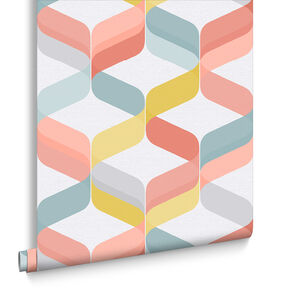 Retro Brights Wallpaper, , large