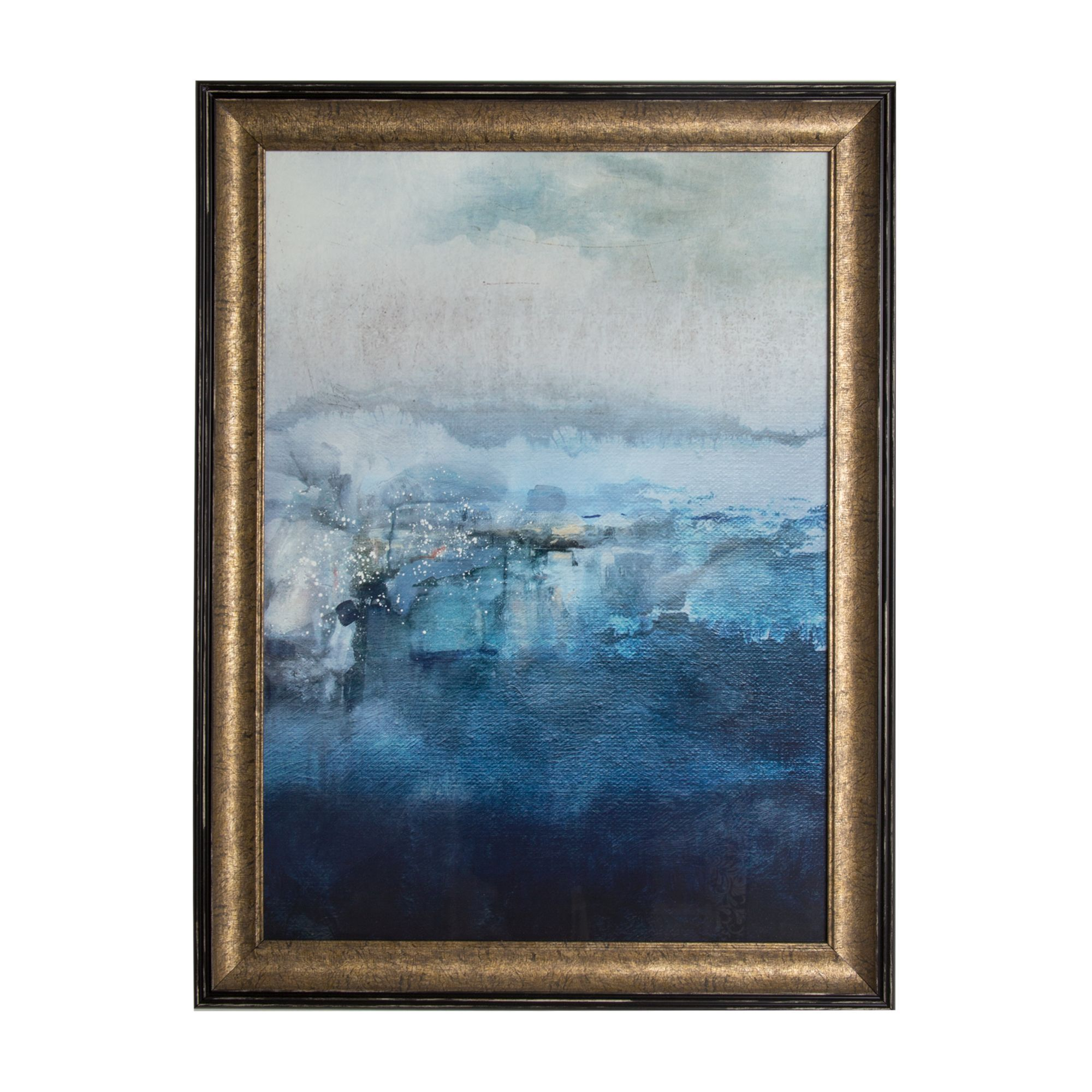 Ink Abstract Framed Wall Art , ...