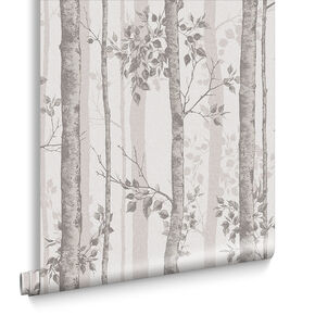 Albero Taupe Wallpaper, , large