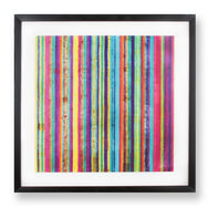 Neon Stripe Wall-art, , large