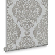 Kinky Vintage Moonshine Flock Wallpaper, , large