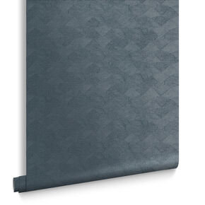 Tessellate Steel Wallpaper, , large