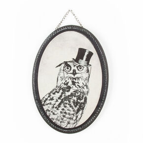 Oswald Owl Printed Canvas Wall Art, , large