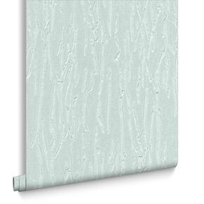 Crushed Silk Duck Egg Blue Wallpaper, , large