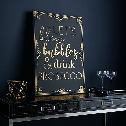 Prosecco Time Wall Art, , large