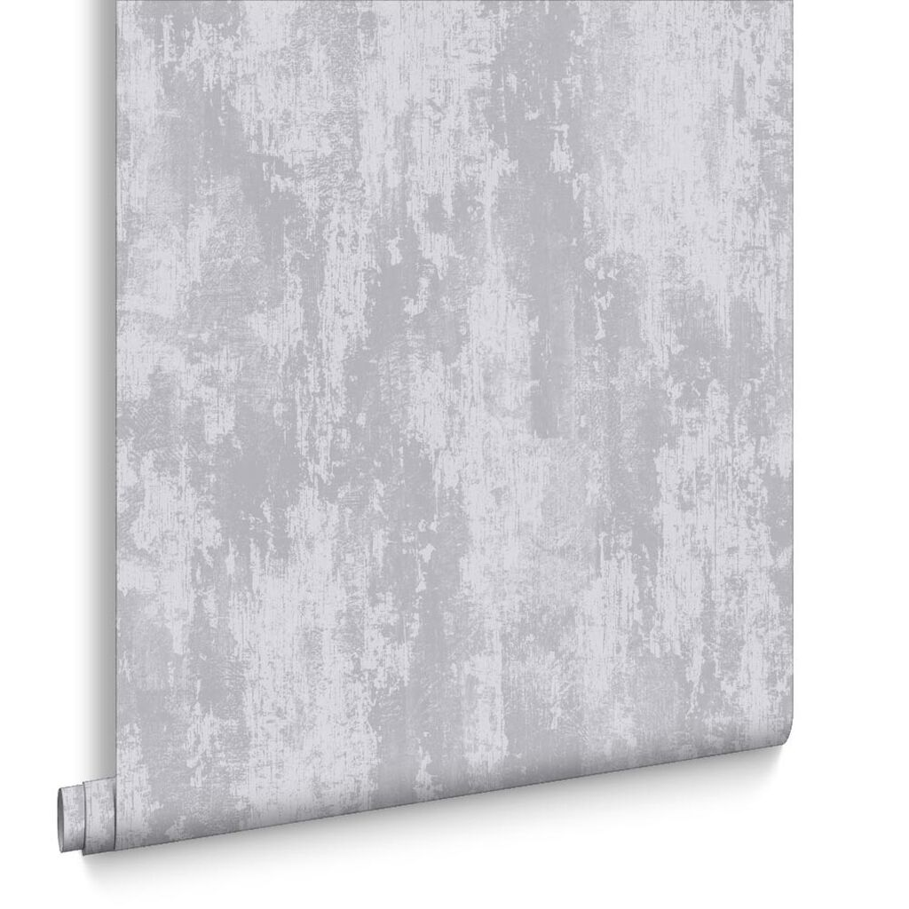 Industrial Texture Silver Wallpaper, , large