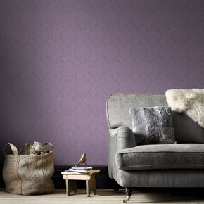 Savannah Purple Wallpaper, , large