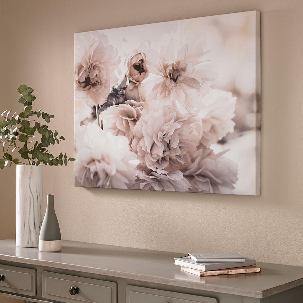 Bedruckte Leinwand Tranquil Blossoms, , large