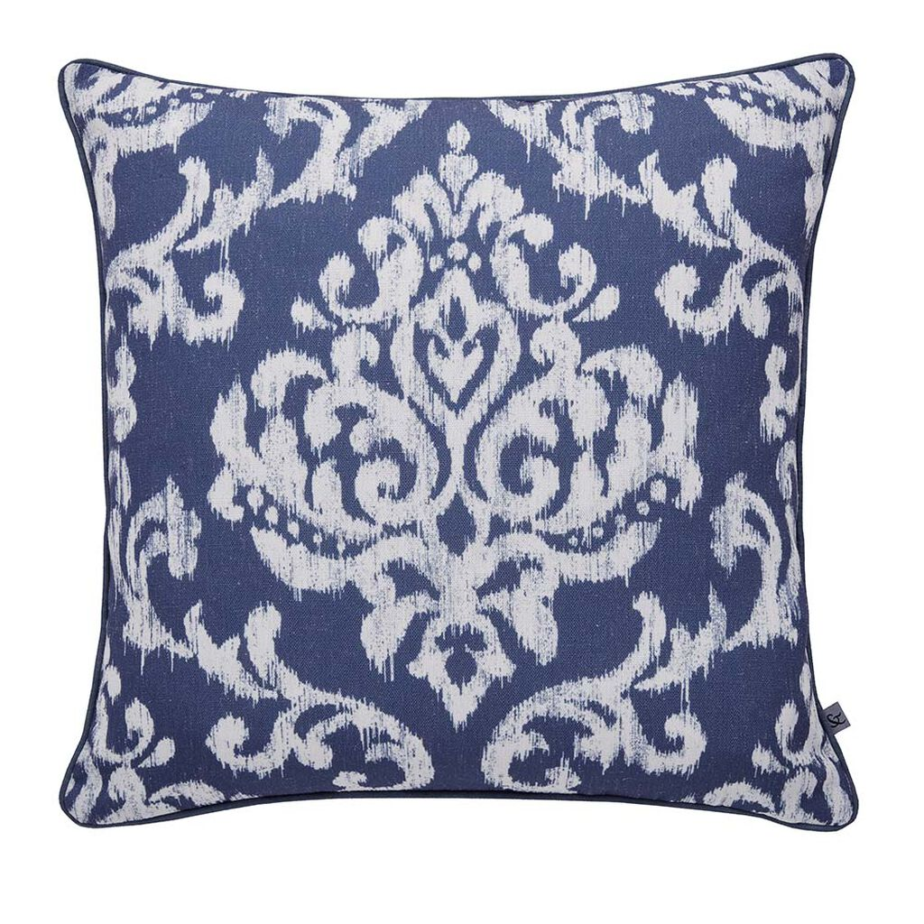 Indian Ink Blue Cushion, , large