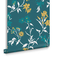 Aeris Teal Wallpaper, , large