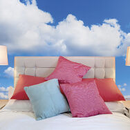 Clouds Wall Ready Made Mural, , large