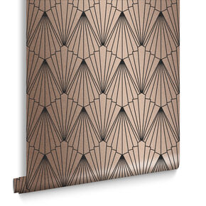 Rene Rose Gold Wallpaper, , large