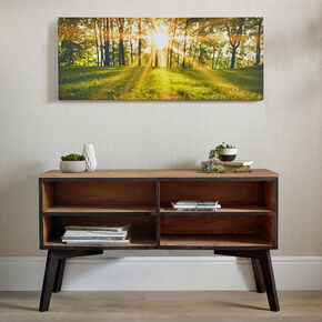Tranquil Forest Fields Printed Canvas Wall Art, , large