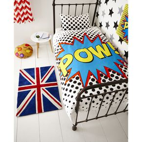 Superstar Duvet Cover, , large