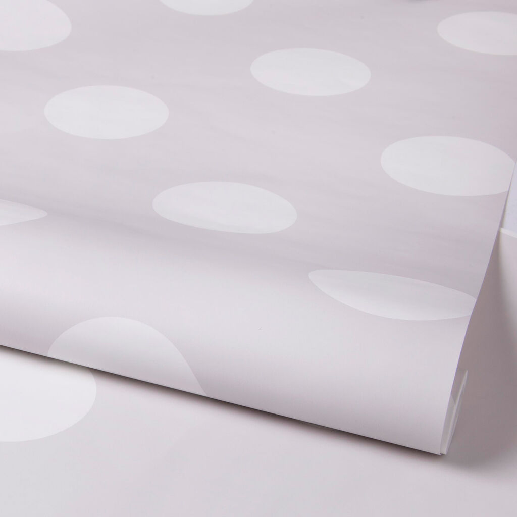 Dotty Grey Wallpaper, , large