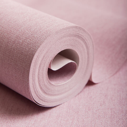 Calico Pink Wallpaper, , large