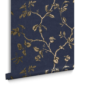 Twining Midnight Wallpaper, , large