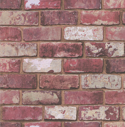 Red Brick Wallpaper, , large