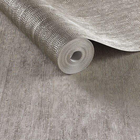 Water Silk Plain Tapete Rotgold, , large