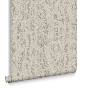 Cashmere Cream & Gold Behang, , large