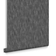 Vienna Black and Silver Wallpaper, , large