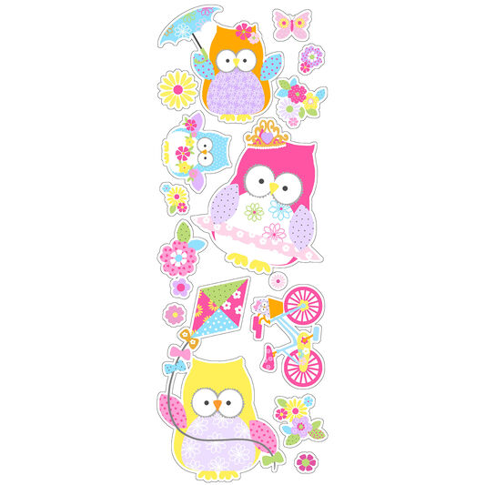 Olive The Owl Stickers, , large