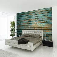 Fototapete Washed Timber Wall, , large