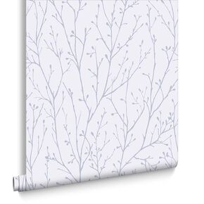 Willamena Lilac Wallpaper, , large