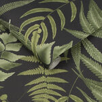 Midsummer Fern Black Wallpaper