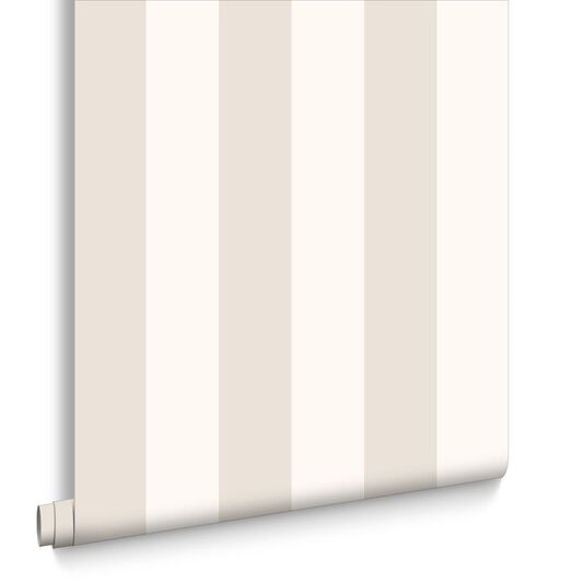 Sparkle Stripe Beige and Champagne Wallpaper, , large