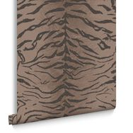 Tiger Brown Wallpaper, , large