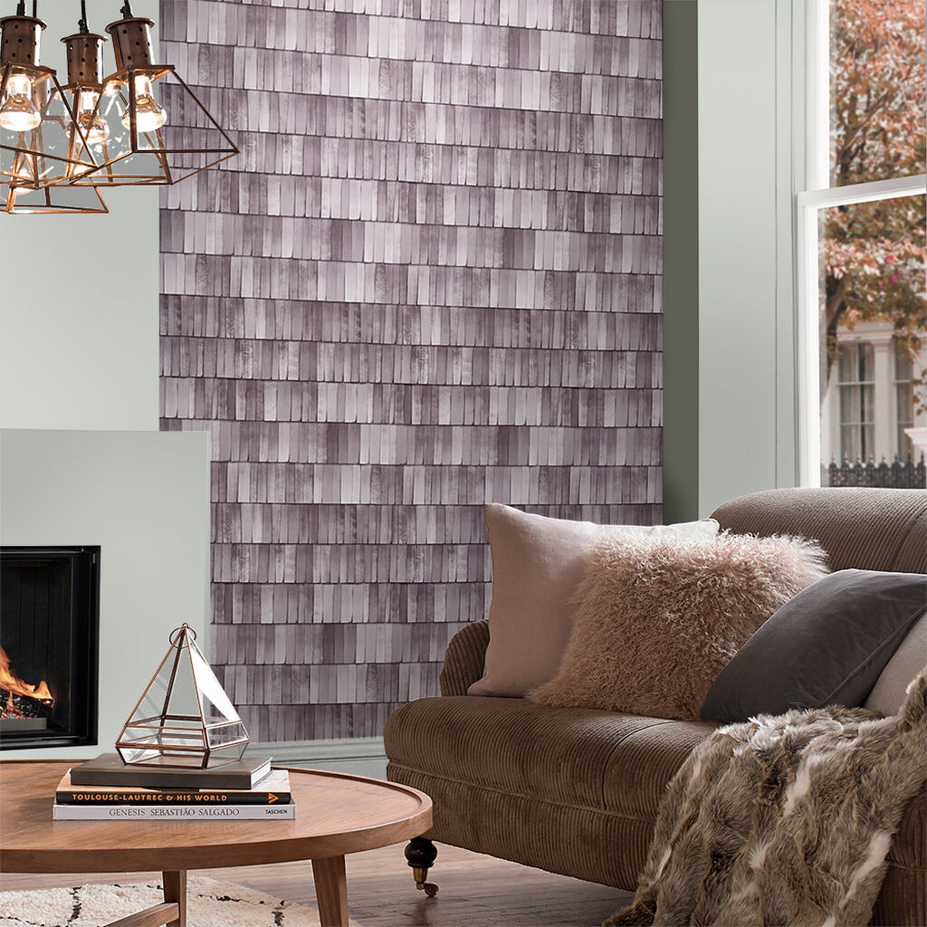 Hygge Slate Wallpaper, , large