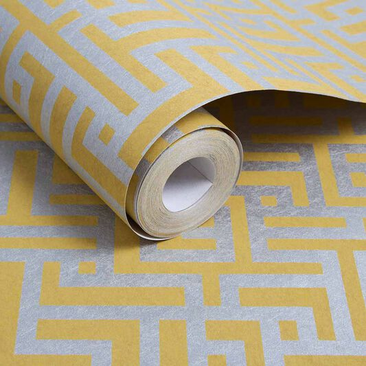 Zen Saffron Wallpaper, , large