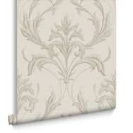 Oxford Cream Wallpaper, , large