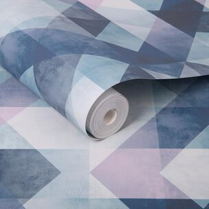 Dimension Steel Blue Wallpaper, , large