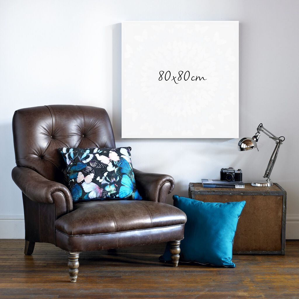 Embellished Ink Fabric Canvas Wall Art, , large