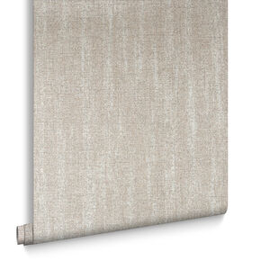 Chenille Beige & Gold Behang, , large