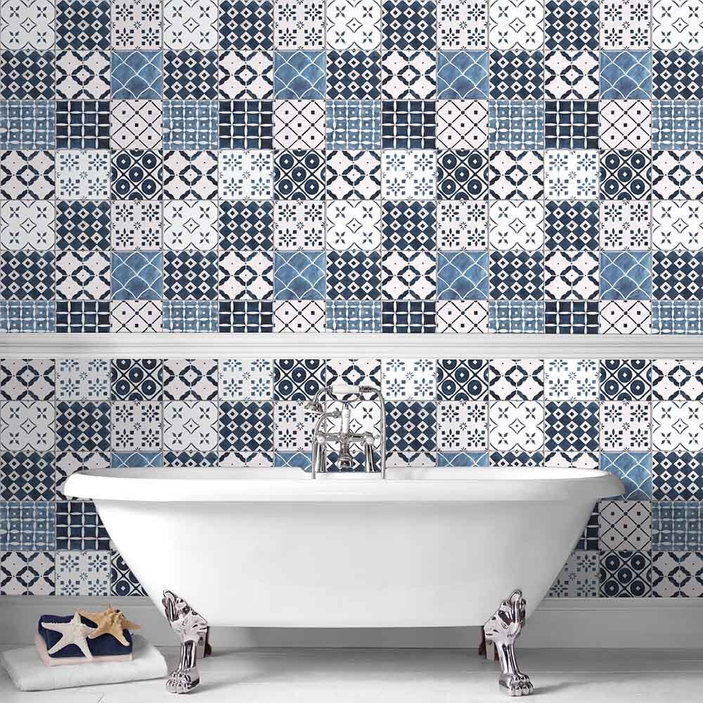 Merveilleux Bathroom Wallpaper