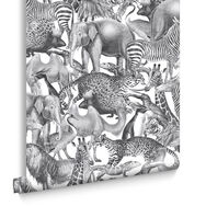 Kingdom Zebra Wallpaper, , large