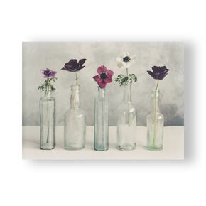Floral Row Printed Canvas Wall Art , , large