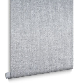 Chenille Silver Behang, , large