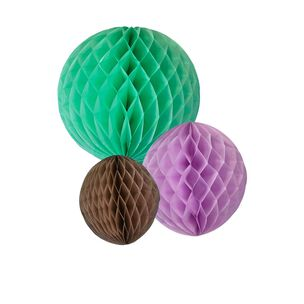 Poms Poms Honeycombe Mint, , large