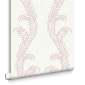Venus Pink & White Behang, , large
