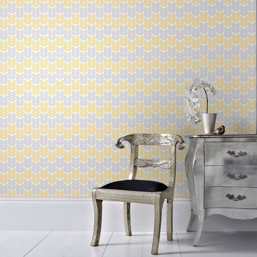 Oiti Yellow Wallpaper, , large