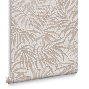 Tropic Tapete Beige und Rotgold, , large